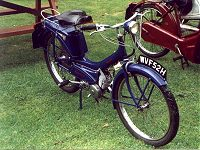 Moped (Raleigh Runabout)